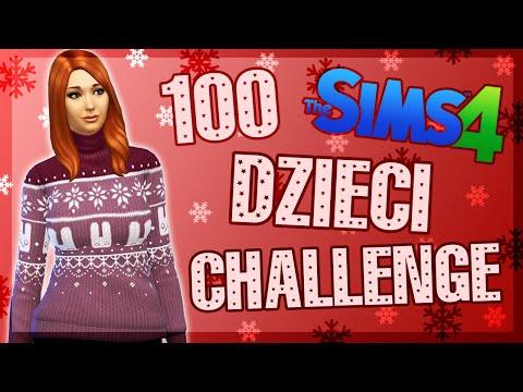 THE SIMS 4 CHALLENGE 100 DZIECI #51 WIGILIA