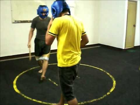 Heyrosa De Cuerdas Eskrima Training - Following Christian part 1 Image 1
