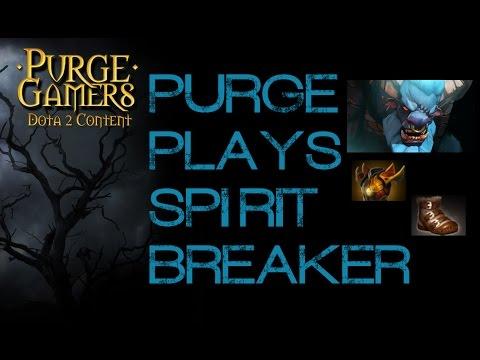 Dota 2 Purge plays Spirit Breaker