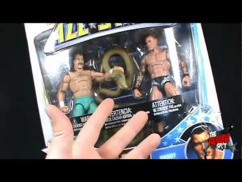 Toy Spot - Mattel WWE Allstars Jake The Snake Roberts VS Randy Orton