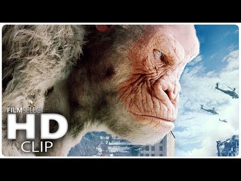 RAMPAGE: All Trailer Clips in Chronological Order (2018)
