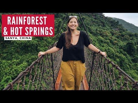 Bathing in Alcohol - Hot Springs China | Sanya, Hainan Island | China Travel Series Part 2