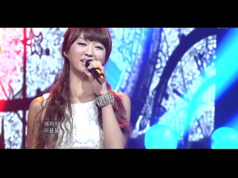 Hyorin( Sistar) & G.O(MBLAQ) Speacial Stage ( Immortal Song...