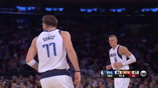 Luka Doncic (33 points) highlights vs New York Knicks