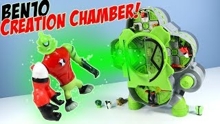 Ben10 Reboot Alien Creation Chamber Playset Review