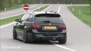 900HP BMW FROM HELL! Burnouts, Accelerations & Insane Sound!