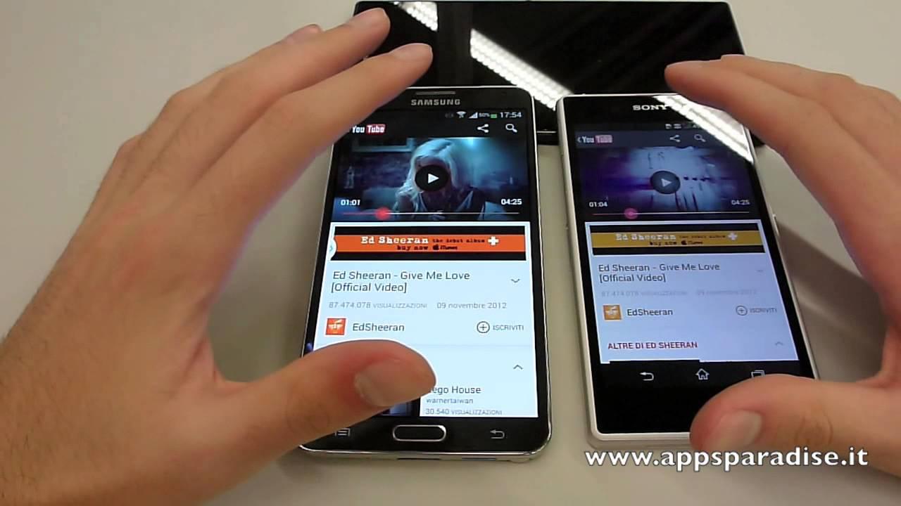 Xperia Z2 Vs Note 3 Note 3 vs Sony Xperia Z1