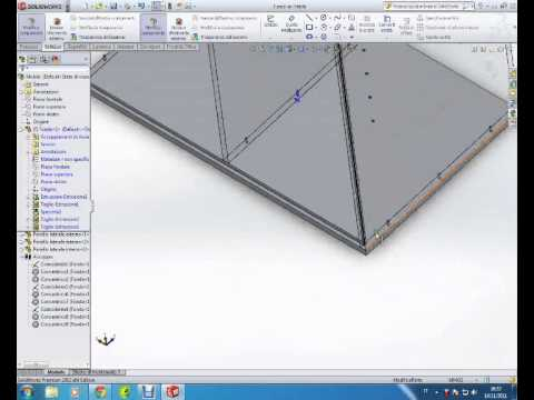 Solidworks tutorial – Libreria in legno