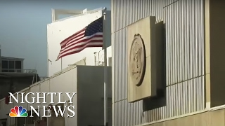 Palestinian Officials To Withdraw Recognition Of Israel If Trump Moves US Embassy | NBC Nightly News