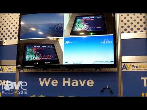 CEDIA 2016: AV Proconnect Demos VideoFlux MX Multiviewer and Seamless Switcher