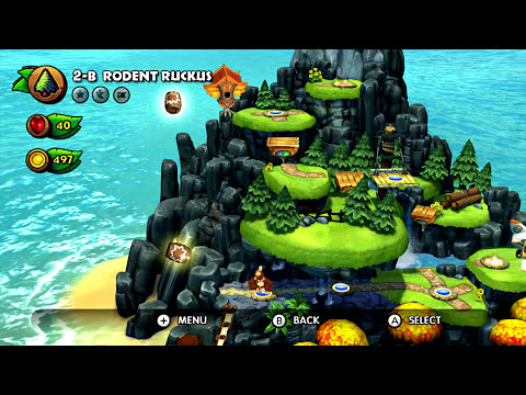 Donkey Kong Country: Tropical Freeze - World 2 (Co-op)