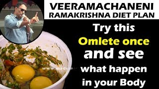 Egg Omelet with Ghee | Try This Omlete Once see what happend in Your Body | Healthy Foods
