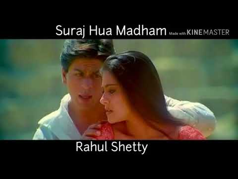 Suraj Hua Madham   Rahul Shetty   Kabhi Khushi Kabhi Gham ❤️🎤🤝🎤❤️