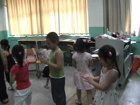 Laughter Yoga with Kindergartners in Nanjing, China