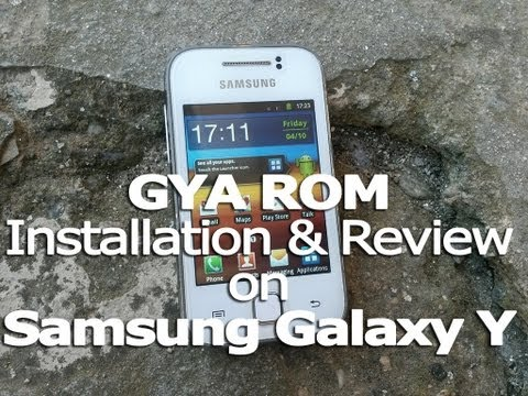 How to install GYA ROM on Galaxy Y + Quick Review