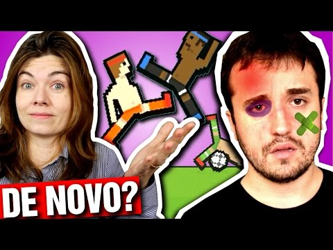 APANHANDO DA ESPOSA? - Tug The Table e Soccer Physics