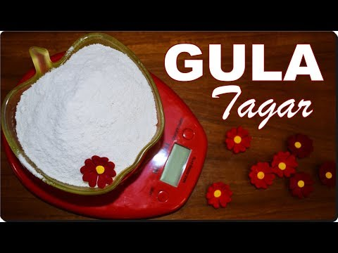 Membuat Gula Tagar / Boora [Gula Spesial Untuk Kue Kering dan Manisan]