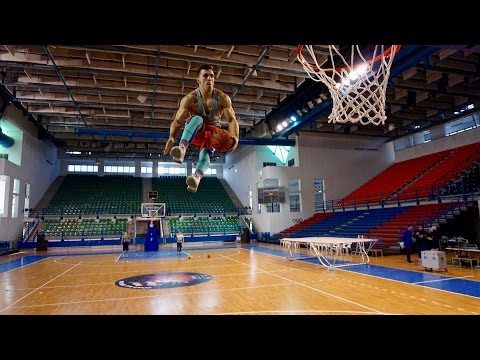 EXTREME LORDS OF GRAVITY HALFTIME SHOW ON ALL STAR GAME CYPRUS 2015