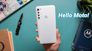 Moto One Fusion+ White Color Unboxing & Impressions! 🔥