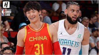 China vs Charlotte Hornets - Full Game Highlights | July 8, 2019 NBA Summer League