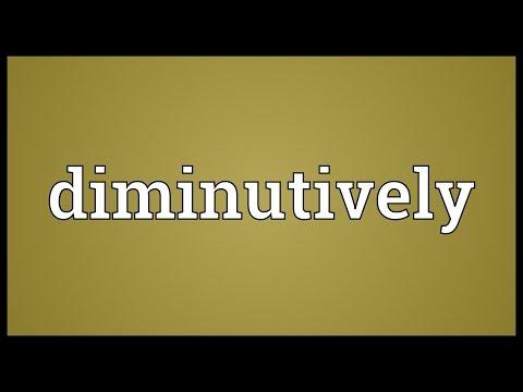 Header of diminutively
