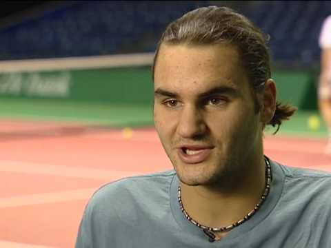 Roger Federer on 16 Grand Slams Video