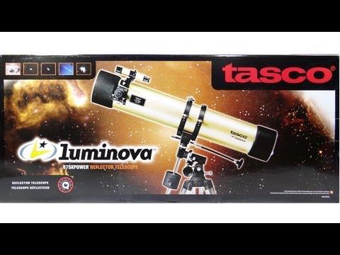 Ensamble Armado de Telescopio Tasco Reflector Luminova 675x 114mm Montura Ecuatorial Paso a Paso