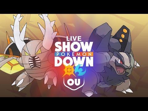 Pokemon Sun & Moon Showdown LIVE - OU - Galvanize Alolan Golem! w/ FranCTrode
