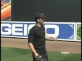 Brady Anderson explains how to play right field in Camden Yards