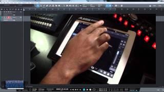 Studio One 3 Remote iPad App Adding Audio Tracks and Setting Inputs