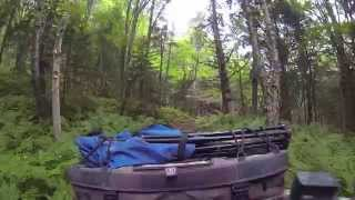 ATV Camping Trip: Two Grizzlies, 200klm, Camp Fire Cooking.