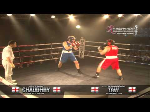 Chaudhry vs Taw - Bout 2, iFS HK 22 Mar &#039;12