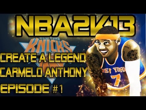 @CallMeShawnn - NBA 2K13 CAL : Carmelo Anthony DUNKS On G.Wallace | J.R Smith Can't Find His Shot!