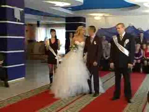 Юмор на свадьбе - Леся и Денис