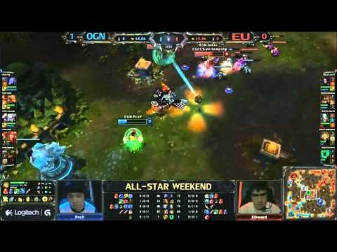 All-Star Shanghái 2013 - LCS Europa vs OGN Korea - Partida 2 - LoL en Español
