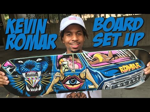 KEVIN ROMAR BOARD SET UP & INTERVIEW !!!