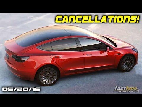 Tesla Model 3 Cancellations, 2017 Volvo XC40 and S40, Acura Autonomous RLX- Fast Lane Daily