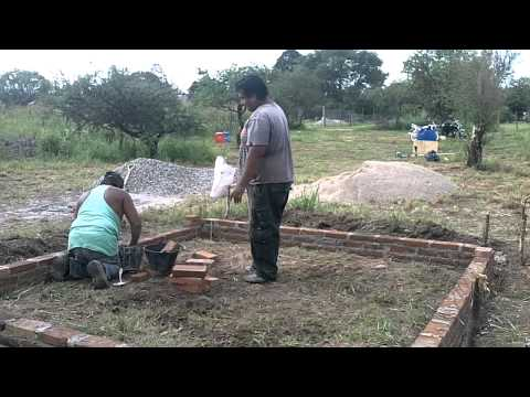 como hacer una casa desde los cimientos parte 4