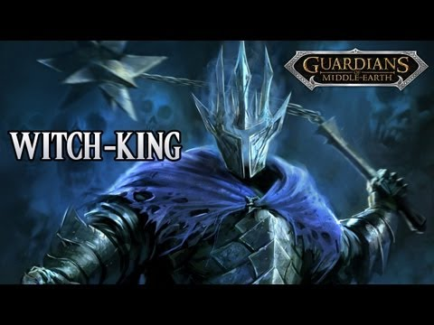 Guardians of Middle-Earth - Witch-King Gameplay Commentary w/ TheTurtleOfDoom