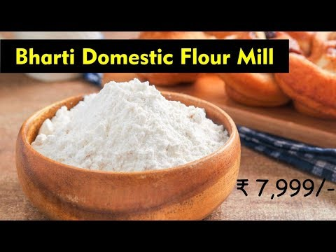 Bharti Domestic Flour Mill, Wheat & Spice Grinder Machine, Wheat Grinding machine, Flour Mill