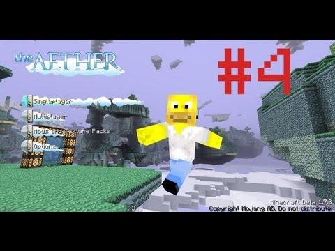 Minecraft LP - Aether - Ep. 04 - Nen ávidím létající mraky!