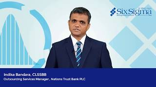 Indika Bandara, CLSSBB - Outsourcing Services Manager, Nations Trust Bank PLC