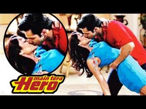 Varun Dhawans Hot KISS ONSCREEN with Ileana DCruz   Mein Tera...