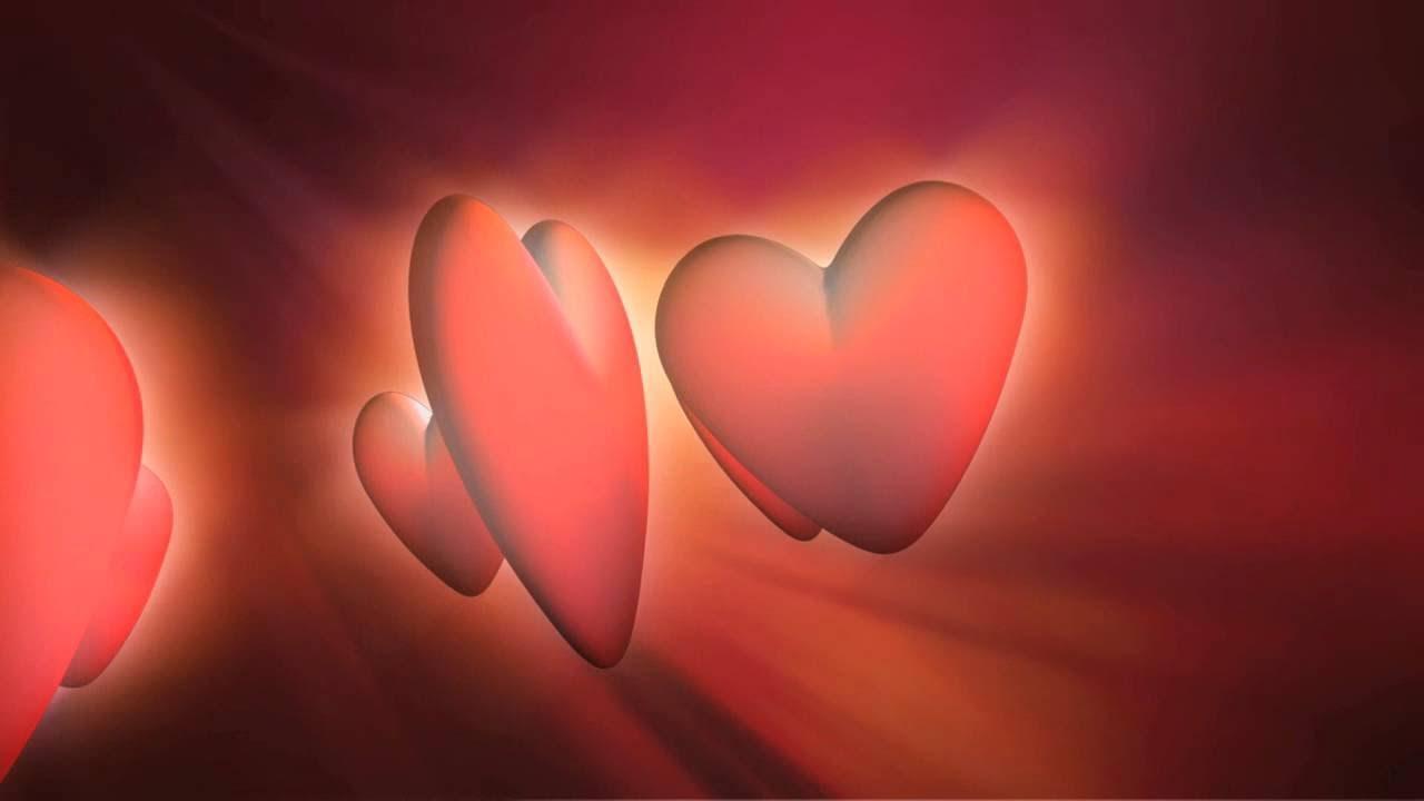 love hearts premium hd video background hd0555   animation