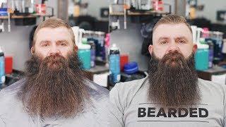 Insane Beard Trim Transformation