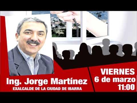 Entrevista Ing. Jorge Martínez Vásquez - Radio los Lagos