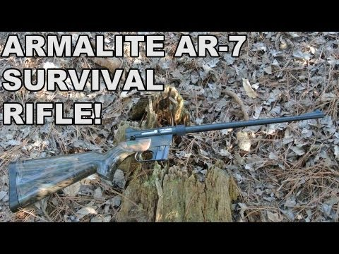 ArmaLite AR-7 Explorer! The Original Floating 22LR Survival Rifle