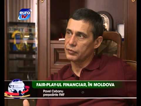 Sport Euro TV 26.02.13 /  Fair-play financial financiar Moldova Iurie Osipenco Rapid U-19