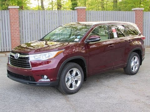 2014 Toyota Highlander Limited V6 AWD Start Up, Exhaust, and In Depth Review