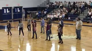 2017 Ram Pride Pep Rally ~ Dancing with the Staff ~ Class of 2020